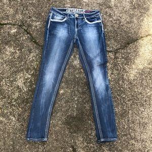 "Hydraulic Jeans with Pocket Detail Size 32"" Waist"